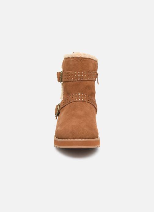 Ankle boots Skechers Keepsakes 2.0 Stud Queen Brown model view