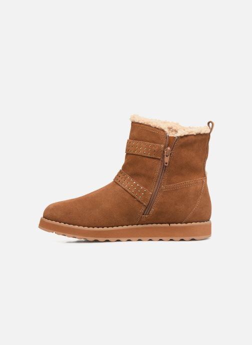 Boots en enkellaarsjes Skechers Keepsakes 2.0 Stud Queen Bruin voorkant