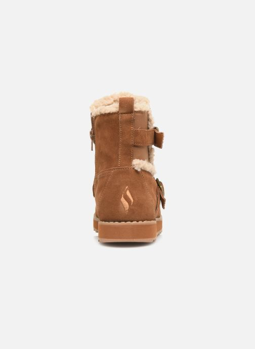Ankle boots Skechers Keepsakes 2.0 Stud Queen Brown view from the right