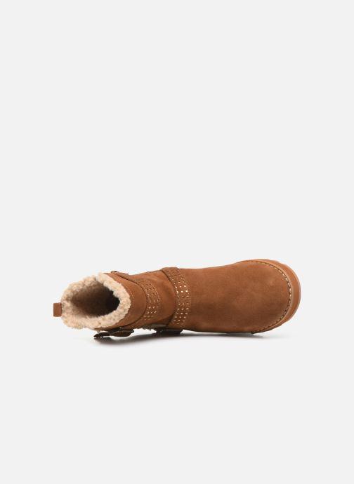 Boots en enkellaarsjes Skechers Keepsakes 2.0 Stud Queen Bruin links