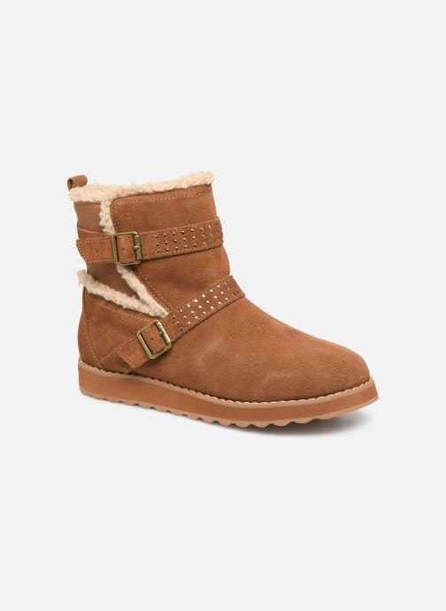 Boots en enkellaarsjes Skechers Keepsakes 2.0 Stud Queen Bruin detail