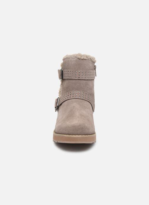 Stiefeletten & Boots Skechers Keepsakes 2.0 Stud Queen beige schuhe getragen