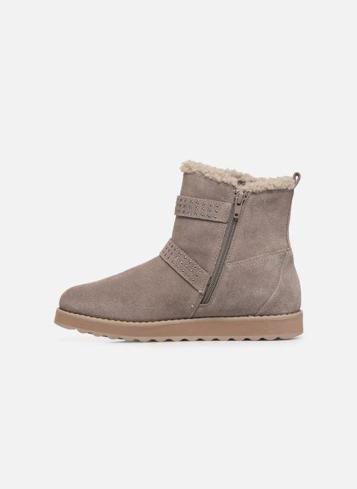 Boots en enkellaarsjes Skechers Keepsakes 2.0 Stud Queen Beige voorkant