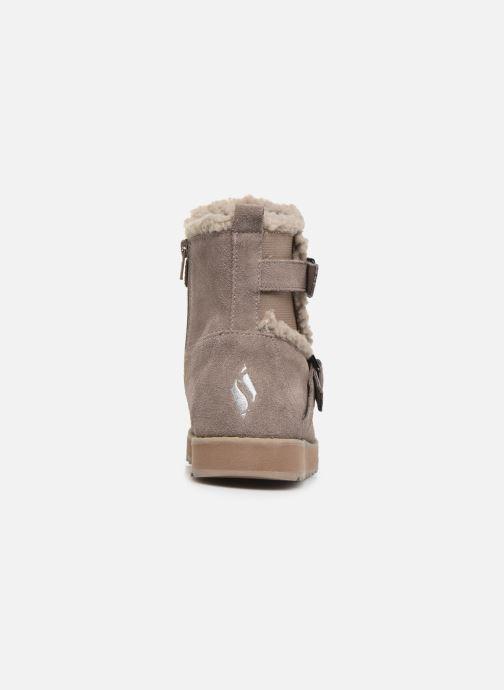 Bottines et boots Skechers Keepsakes 2.0 Stud Queen Beige vue droite