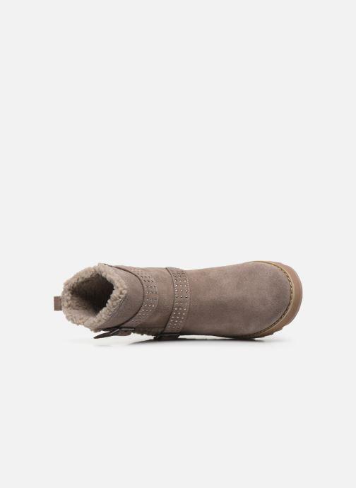 Boots en enkellaarsjes Skechers Keepsakes 2.0 Stud Queen Beige links