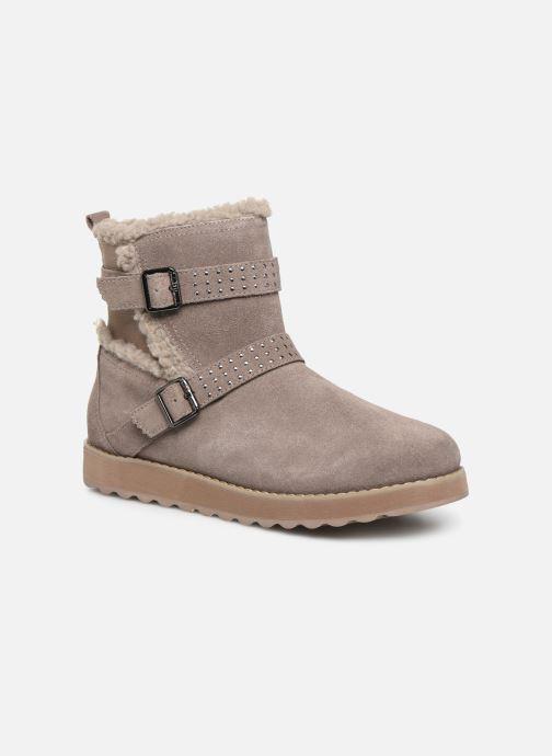Bottines et boots Skechers Keepsakes 2.0 Stud Queen Beige vue détail/paire