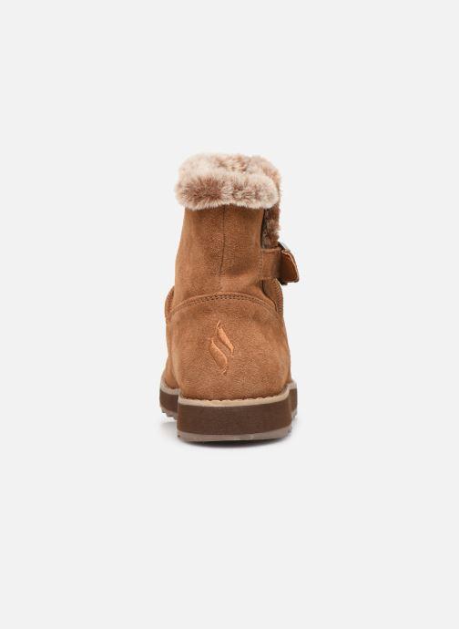 Bottines et boots Skechers Keepsakes 2.0 Broken Arrow Marron vue droite