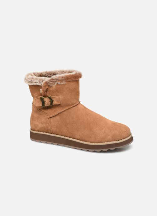 Boots en enkellaarsjes Skechers Keepsakes 2.0 Broken Arrow Bruin detail