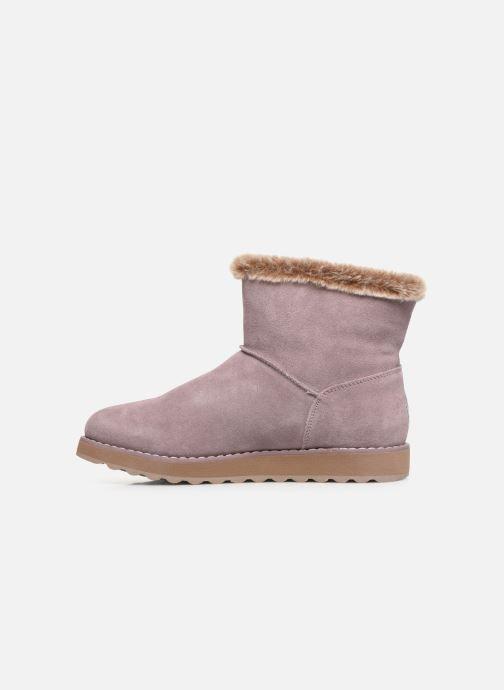 Ankle boots Skechers Keepsakes 2.0 Broken Arrow Pink front view