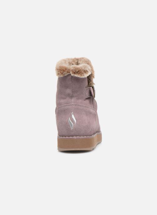 Bottines et boots Skechers Keepsakes 2.0 Broken Arrow Rose vue droite