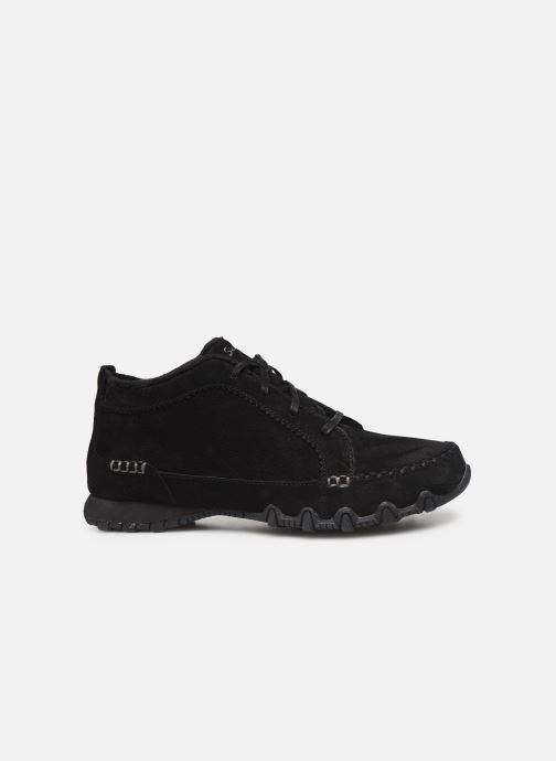Trainers Skechers Bikers Lineage Black back view
