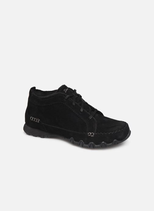 Trainers Skechers Bikers Lineage Black detailed view/ Pair view