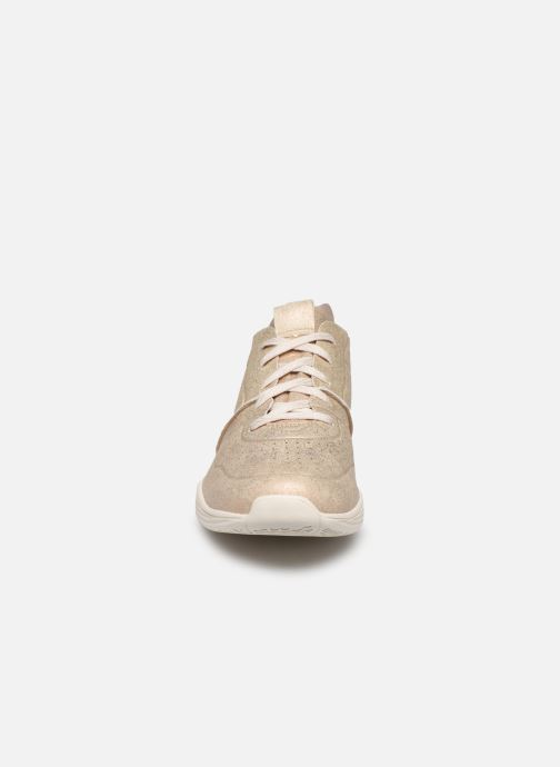 Trainers Skechers Seager Bronze and Gold model view