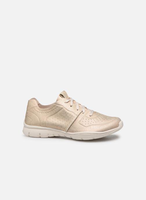 Sneaker Skechers Seager gold/bronze ansicht von hinten
