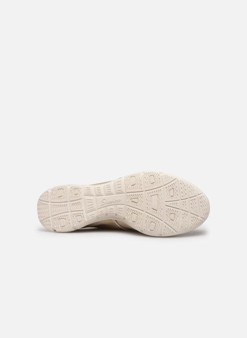 Sneaker Skechers Seager gold/bronze ansicht von oben