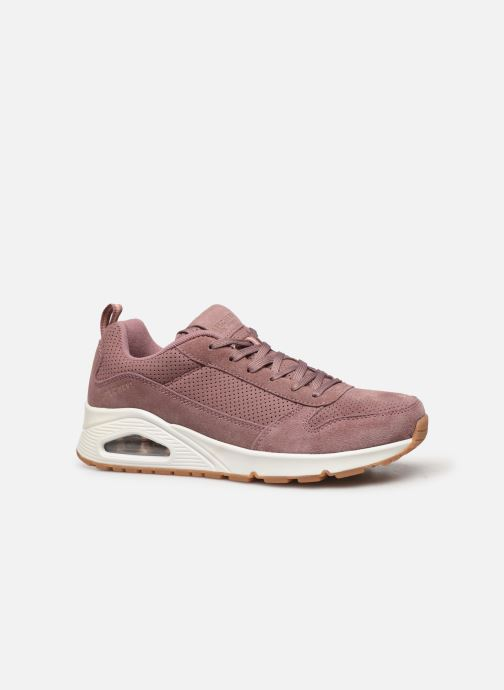 Sneakers Skechers Uno Two For The Show Roze achterkant
