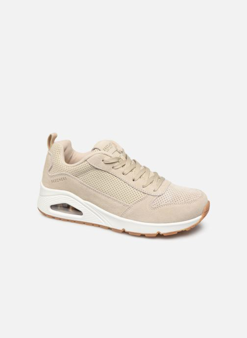 Sneakers Skechers Uno Two For The Show Beige detail