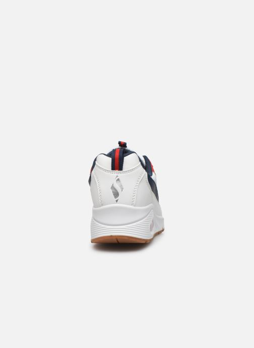 Trainers Skechers Uno Circle Street White view from the right