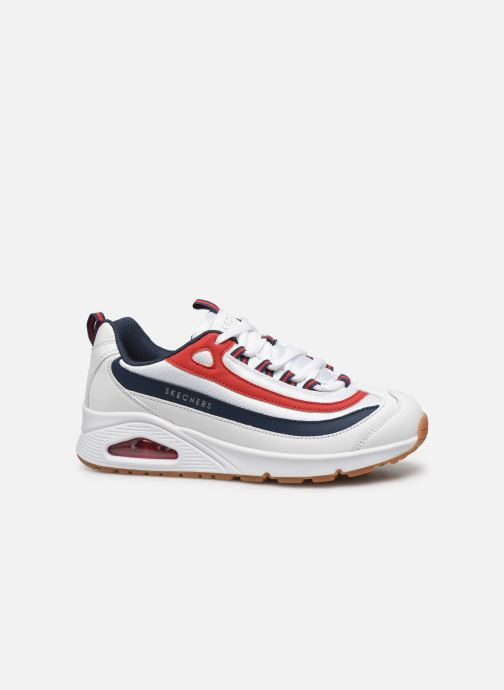 Trainers Skechers Uno Circle Street White back view