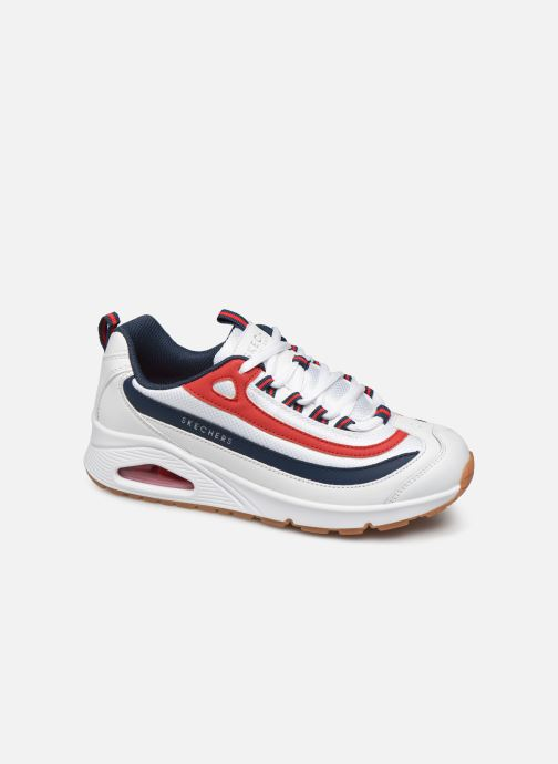 Trainers Skechers Uno Circle Street White detailed view/ Pair view