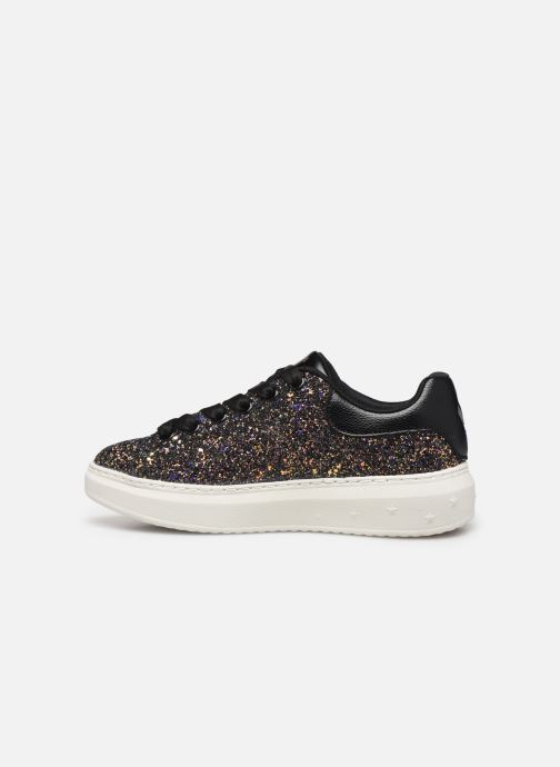 Trainers Skechers High Street Glitter Rockers Multicolor front view