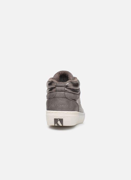 Sneaker Skechers Goldie Starling silber ansicht von rechts