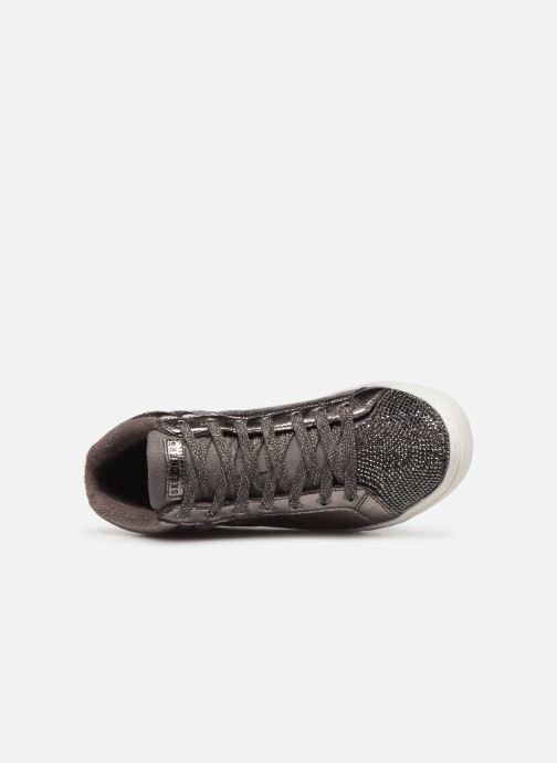 Sneaker Skechers Goldie Starling silber ansicht von links