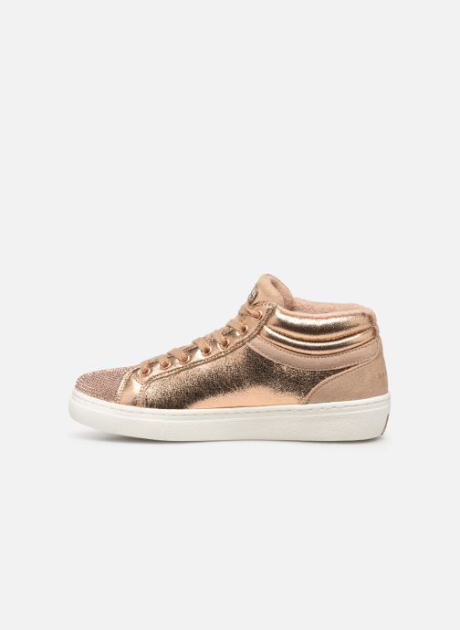 Trainers Skechers Goldie Starling Bronze and Gold front view