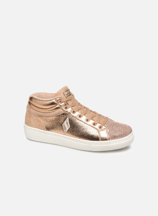 Trainers Skechers Goldie Starling Bronze and Gold detailed view/ Pair view