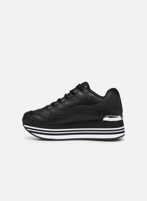 Trainers Skechers Highrise High-Engery Black front view