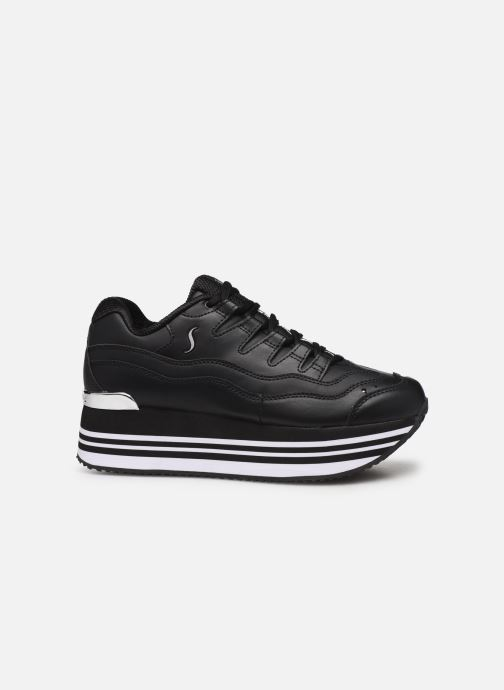 Trainers Skechers Highrise High-Engery Black back view