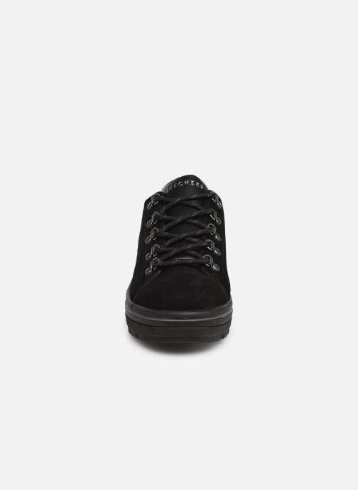 Baskets Skechers Street Cleats 2 Noir vue portées chaussures