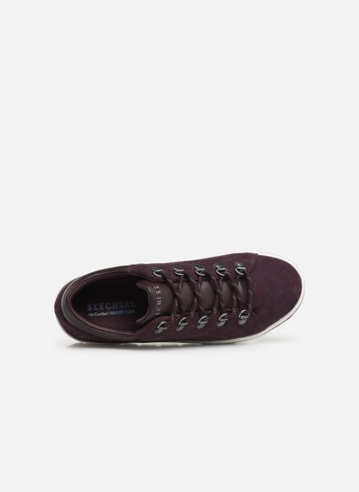 Baskets Skechers Street Cleats 2 Violet vue gauche