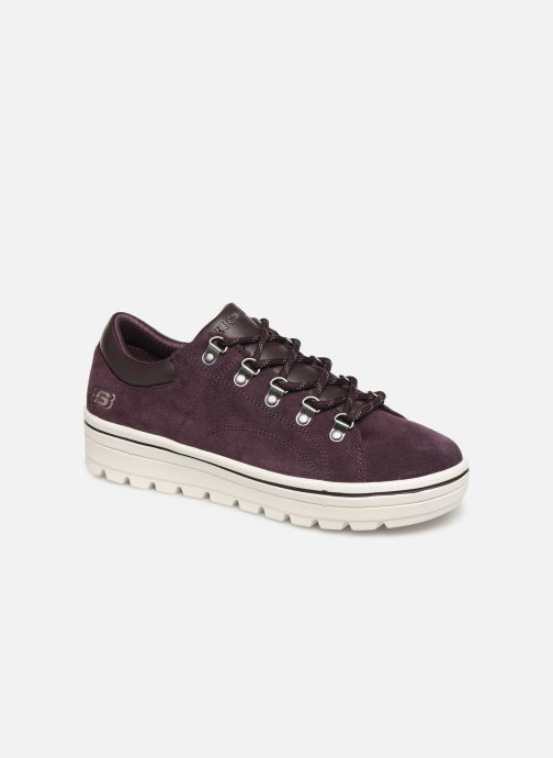 Baskets Skechers Street Cleats 2 Violet vue détail/paire