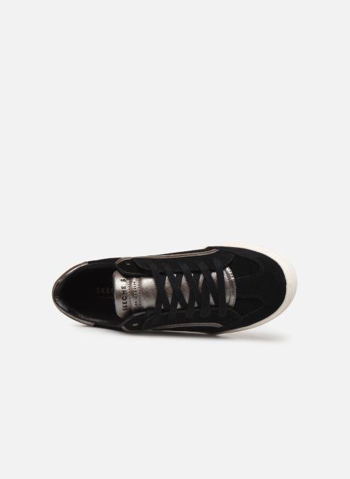 Baskets Skechers Goldie Pop Shine Noir vue gauche