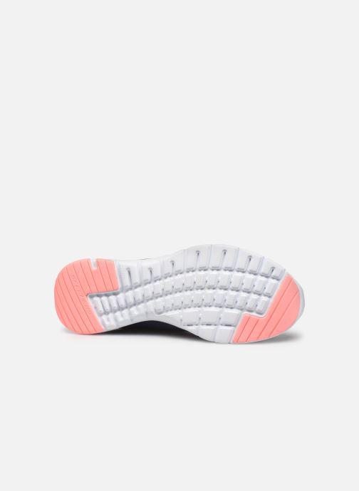 Chaussures de sport Skechers Flex Appeal 3.0 Breezin' Kicks Bleu vue haut