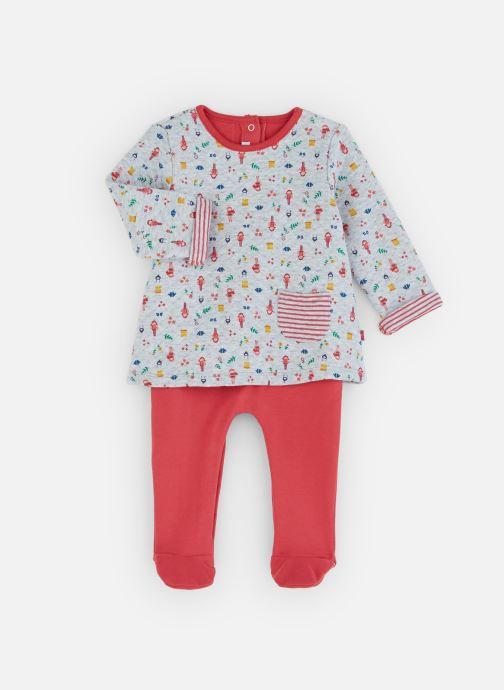 Vêtements Absorba Combirobe Multicolore Matelassée Rouge vue détail/paire