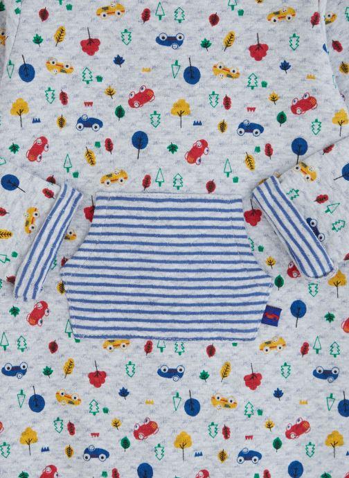 Vêtements Absorba Combilongue Matelassée Motifs voitures Bleu vue portées chaussures