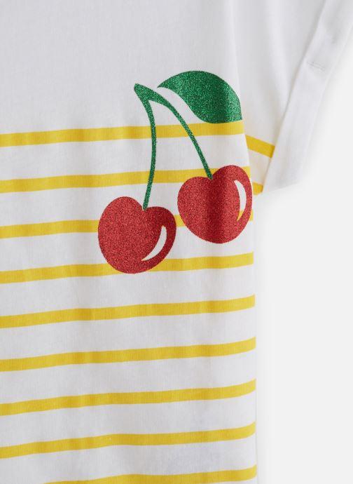 Vêtements Name it T-Shirt Nkfjpinapple Capsl Top Blanc vue portées chaussures