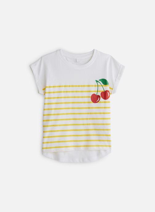 Vêtements Name it T-Shirt Nkfjpinapple Capsl Top Blanc vue détail/paire