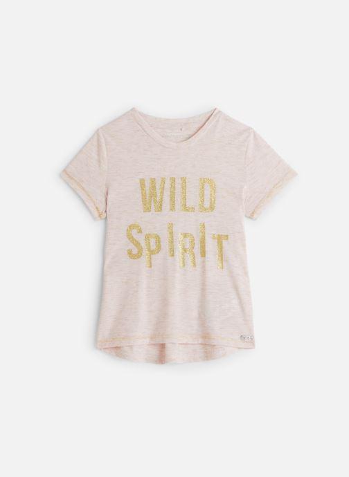 Vêtements Name it T-Shirt Nkfkasigga Ss Top Rose vue détail/paire