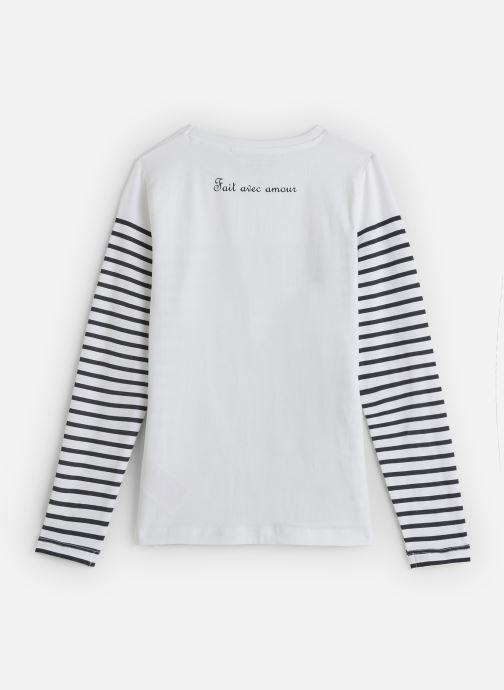 Kleding Name it T-Shirt Nkfkatinka Ls Top Wit onder