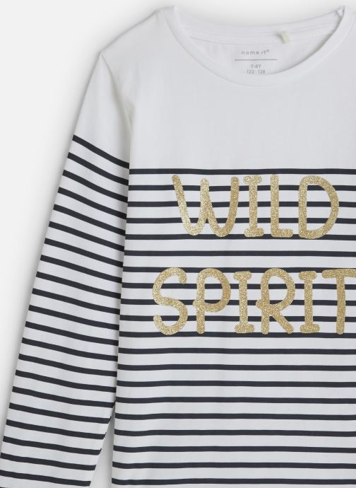 Kleding Name it T-Shirt Nkfkatinka Ls Top Wit model