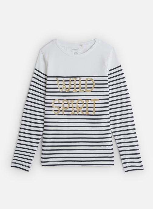 Tøj Name it T-Shirt Nkfkatinka Ls Top Hvid detaljeret billede af skoene