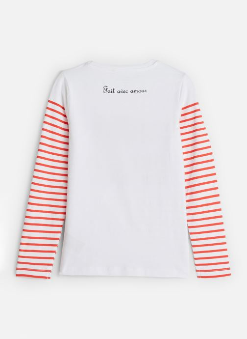 Vêtements Name it T-Shirt Nkfkatinka Ls Top Blanc vue bas / vue portée sac