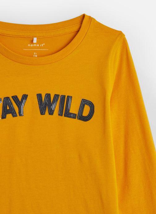 Kleding Name it T-Shirt Nkfkalissa Ls Top Geel model
