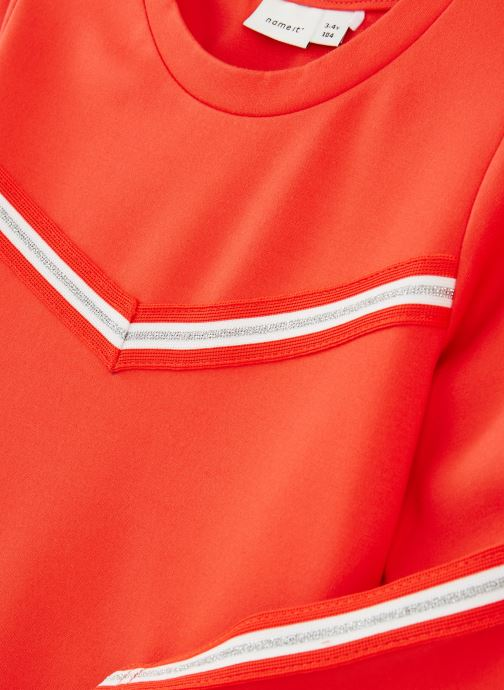 Kleding Name it T-Shirt Nkflornelia Ls Top Rood model