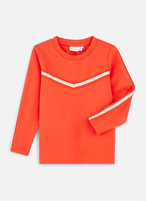 Kleding Name it T-Shirt Nkflornelia Ls Top Rood detail