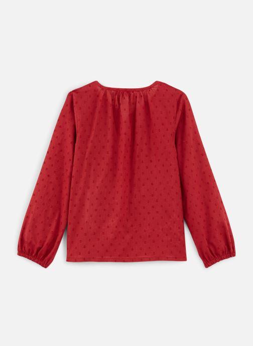 Vêtements Name it Blouse Nkfnanina Ls Shirt Rouge vue bas / vue portée sac