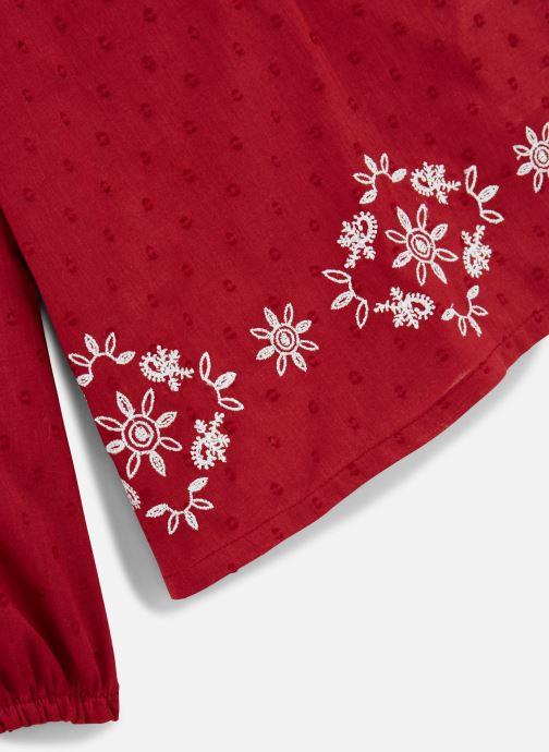 Vêtements Name it Blouse Nkfnanina Ls Shirt Rouge vue portées chaussures